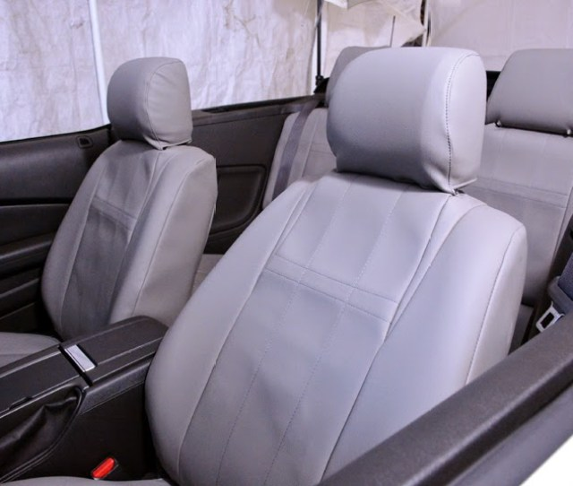 Installing Caltrend Custom Seat Covers On A 2014 Mustang