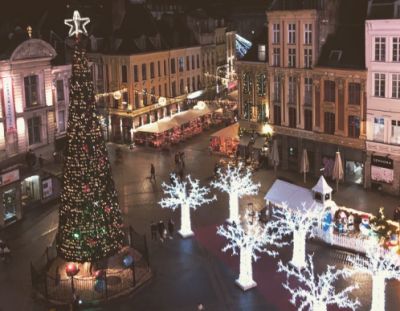 LILLE TRIP: Students enjoy French festivities