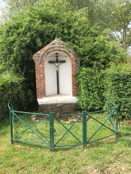 Calvaire de Raucourt au Bois construit vers 1900 (Source Mairie).
