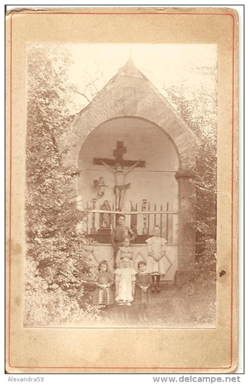 Calvaire vers 1905