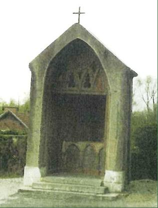 Calvaire de Boussois transformé en chapelle