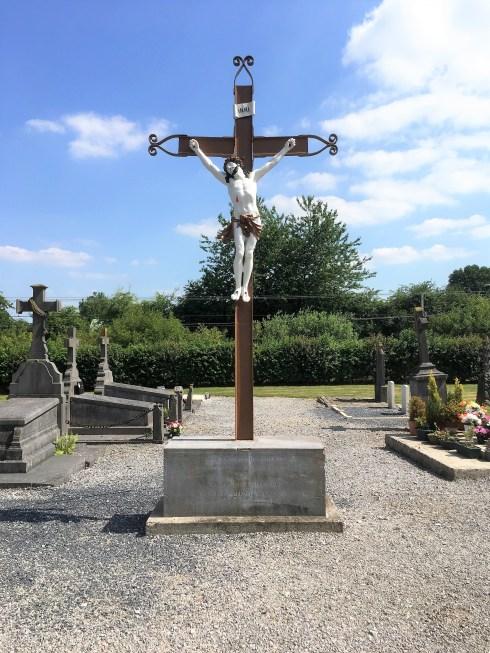 Croix au cimetière.