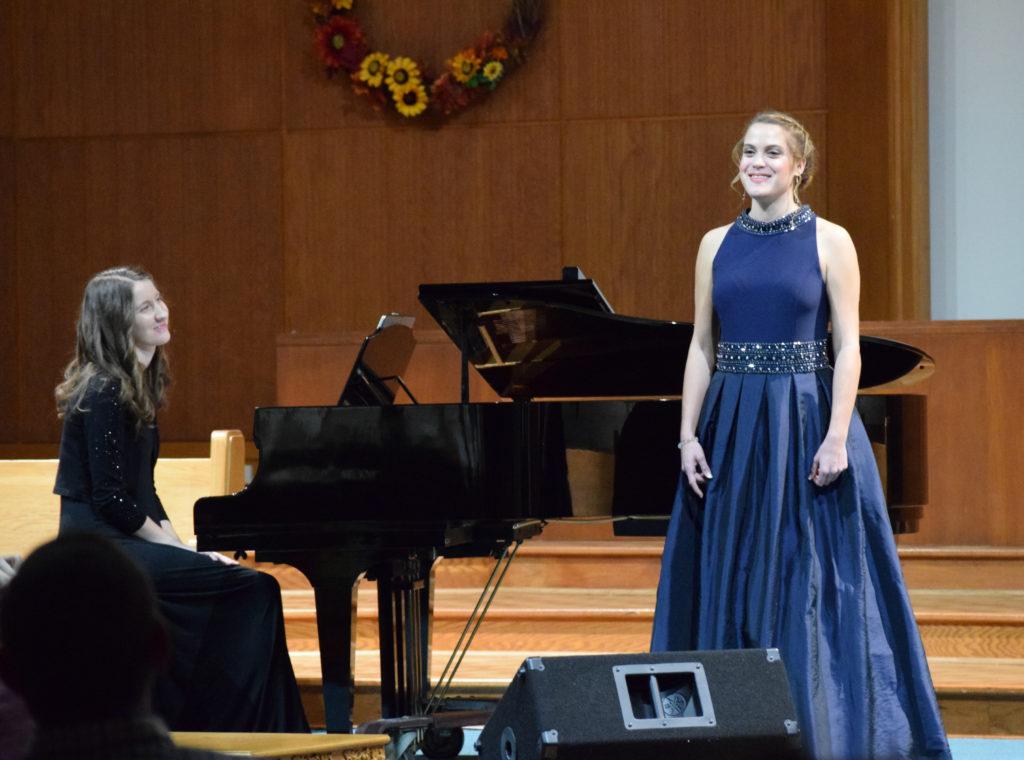Charis Schneeberger Performs Senior Recital