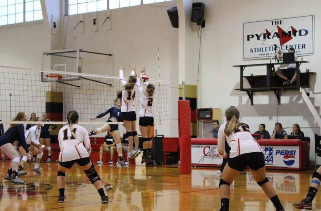 Volleyball Team Drops First Round of Regionals