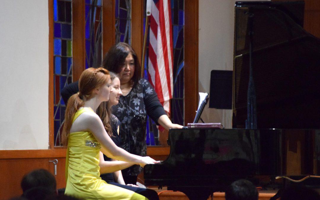 Piano Dedication Concert