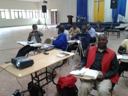 MS Department Chair, Dr. Mike Dodds, Teaching Preaching Course to Pastors in Uganda