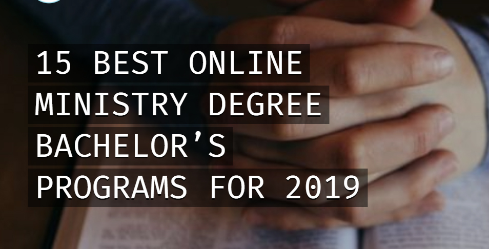 Calvary Ranked in the Top 15 Bachelor's Ministry Online Programs in the Nation