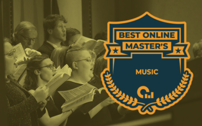 CU Online Master's in Music Ranked in Top 5