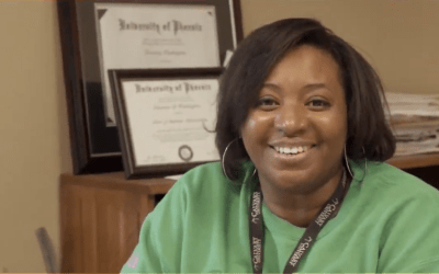 Dr. Washington Transitions to Chair Business Department