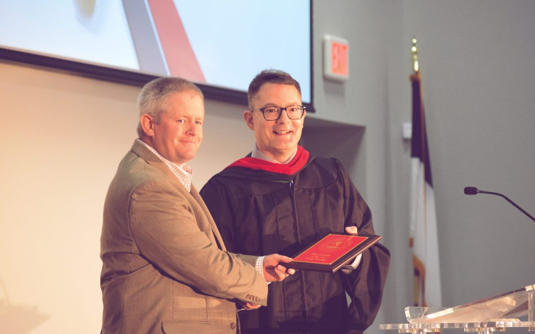 Cory Young Named Alumnus of the Year