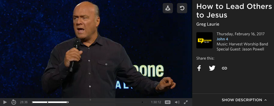 Image of Greg Laurie preaching