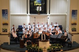 Musicians Choir and Pastor 4