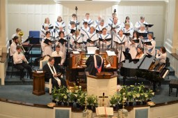 Musicians Choir and Pastor