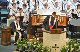 Pastor and Choir