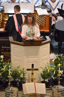 Scripture Reader - Linda Dwyer