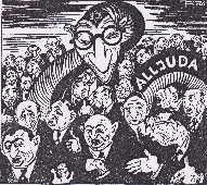 Der Stürmer caricature