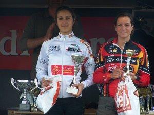 Camille POUSSE sur le podium espoir dame