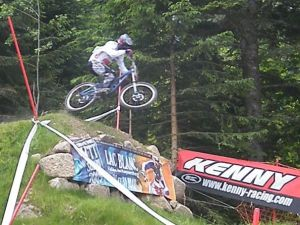 Ivan OZIOL champion de France DH cadet 2007
