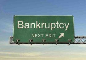 Bankruptcy - exit