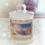 Bougie Warm Vanilla Winter – Yankee Candle like