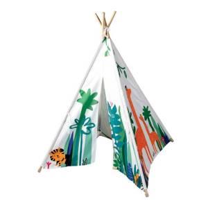 Namiot kolorowe tipi dla dziecka dżungla Rex London