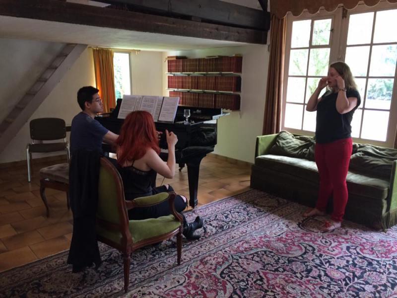 Adeline Toniutti - cours de chant- masterclass de chant - CALYP