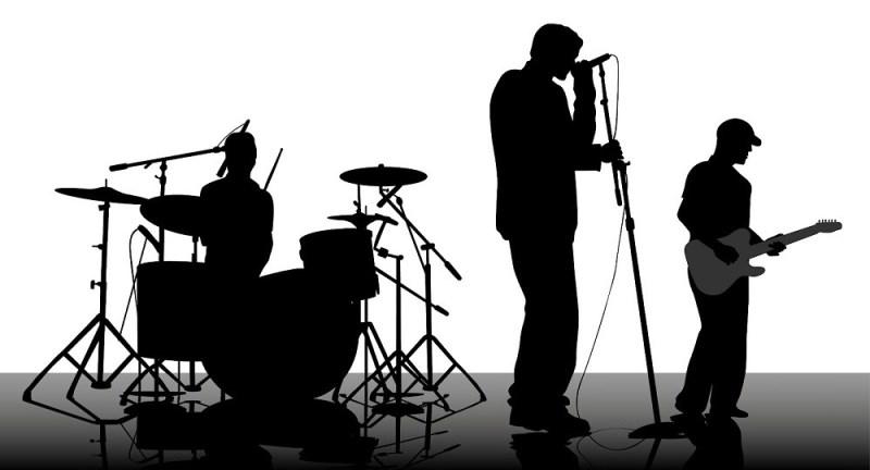 Groupe de musique au CALYP