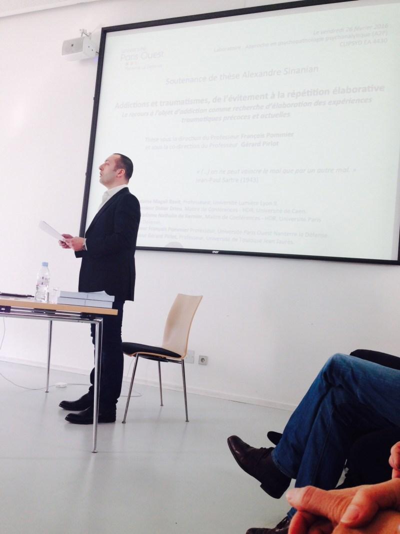 Docteur Alexandre Sinanian - psychologue clinicien à Paris - 16 rue saint-sauveur -75002 PARIS- Membre d'honneur du CALYP