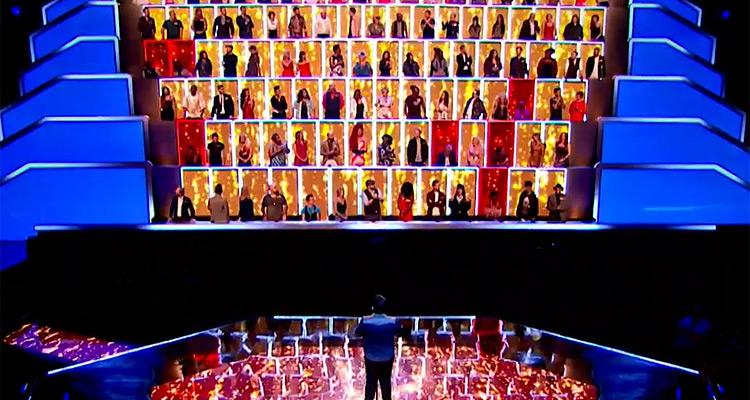 Together - Tous avec moi sur M6 le mur avec Adeline Toniutti jury