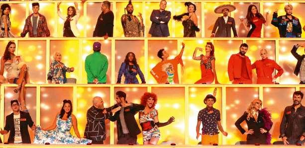 Together - Tous avec moi sur M6 une partie du jury des 100 avec Adeline Toniutti