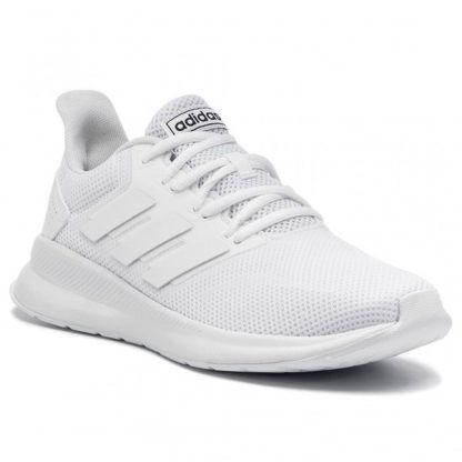 74a56906 Deportivos Adidas RUNFALCON blancas