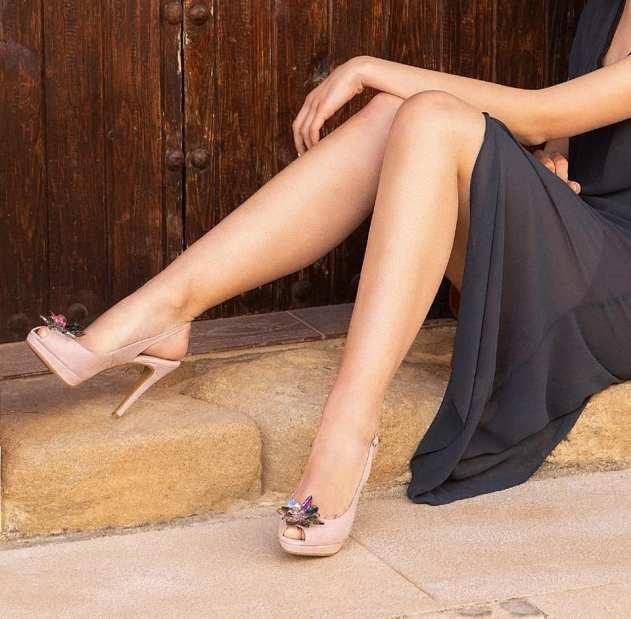 """Sandalias de Fiesta con Mucho Glamour"""