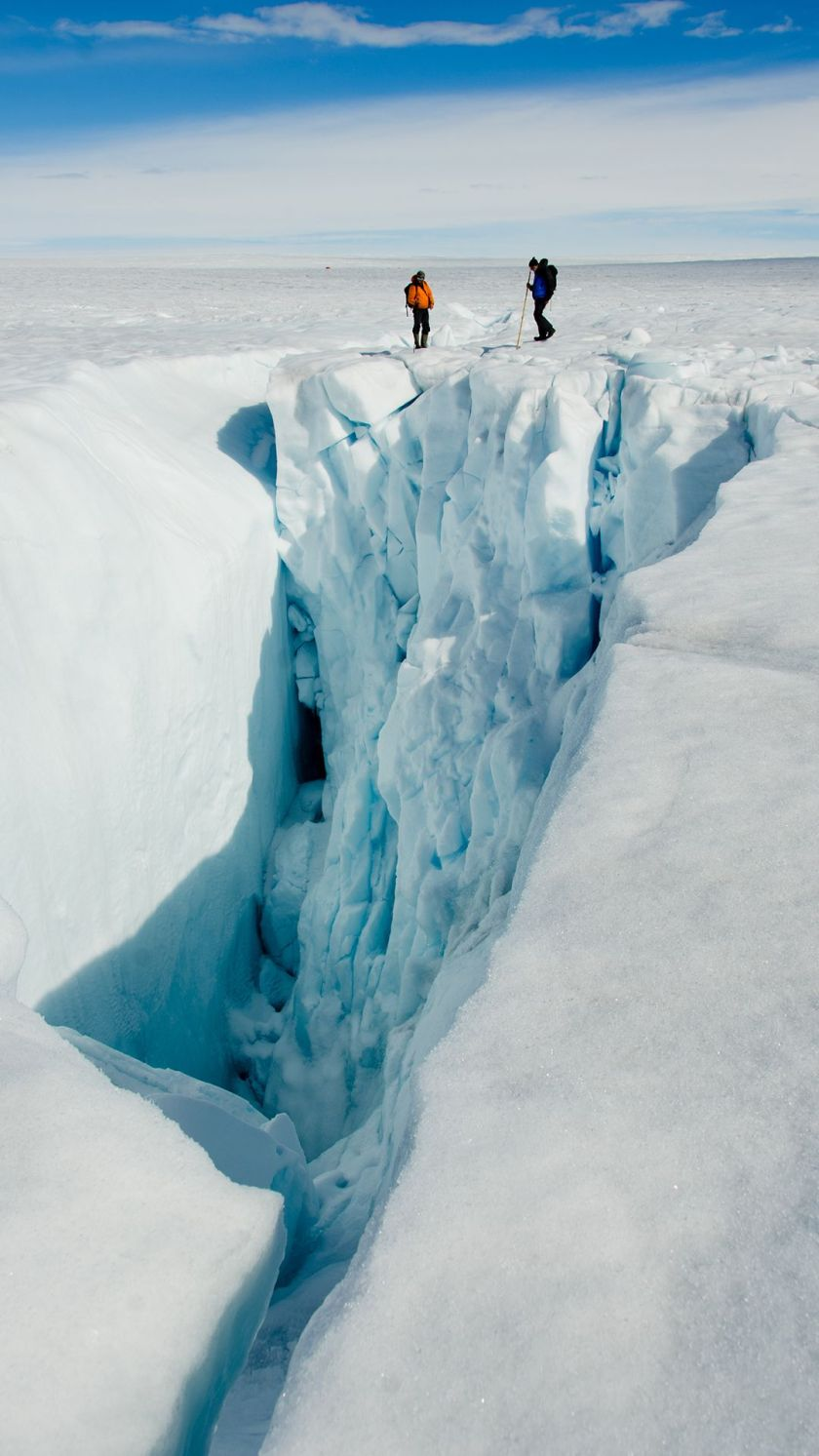 Ice fracture