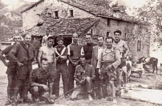 Partigiani 36a Brigata a Purocielo