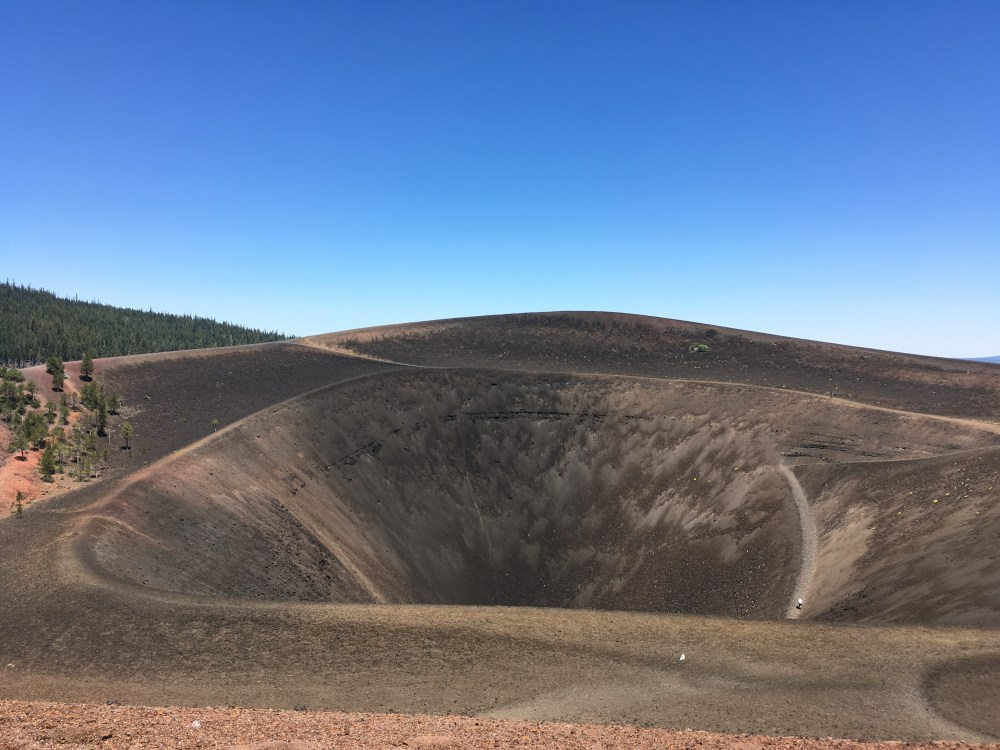 Cinder Cone Lassen Volcanic National Park