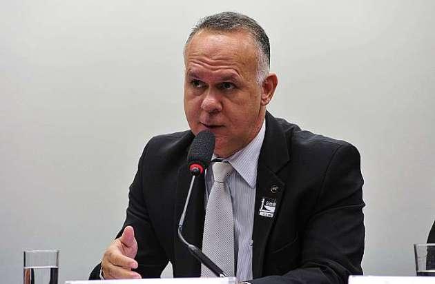 Audiência pública para esclarecimentos acerca de denúncias de fraudes envolvendo o Seguro-Desemprego. Coordenador-geral de Seguro Desemprego do Ministério do Trabalho e Emprego (MTE), Márcio Alves Borges
