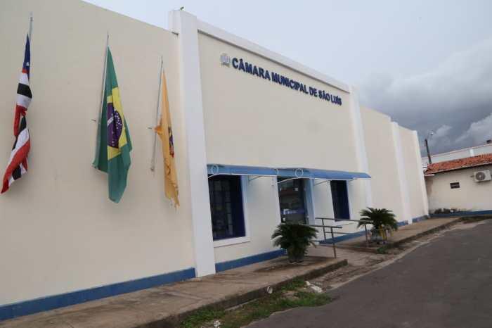 Fachada da Câmara de São Luís. Foto: Paulo Caruá