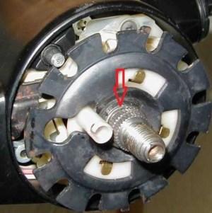 1969  1995 Camaro Column Lock Plate Retaining Ring
