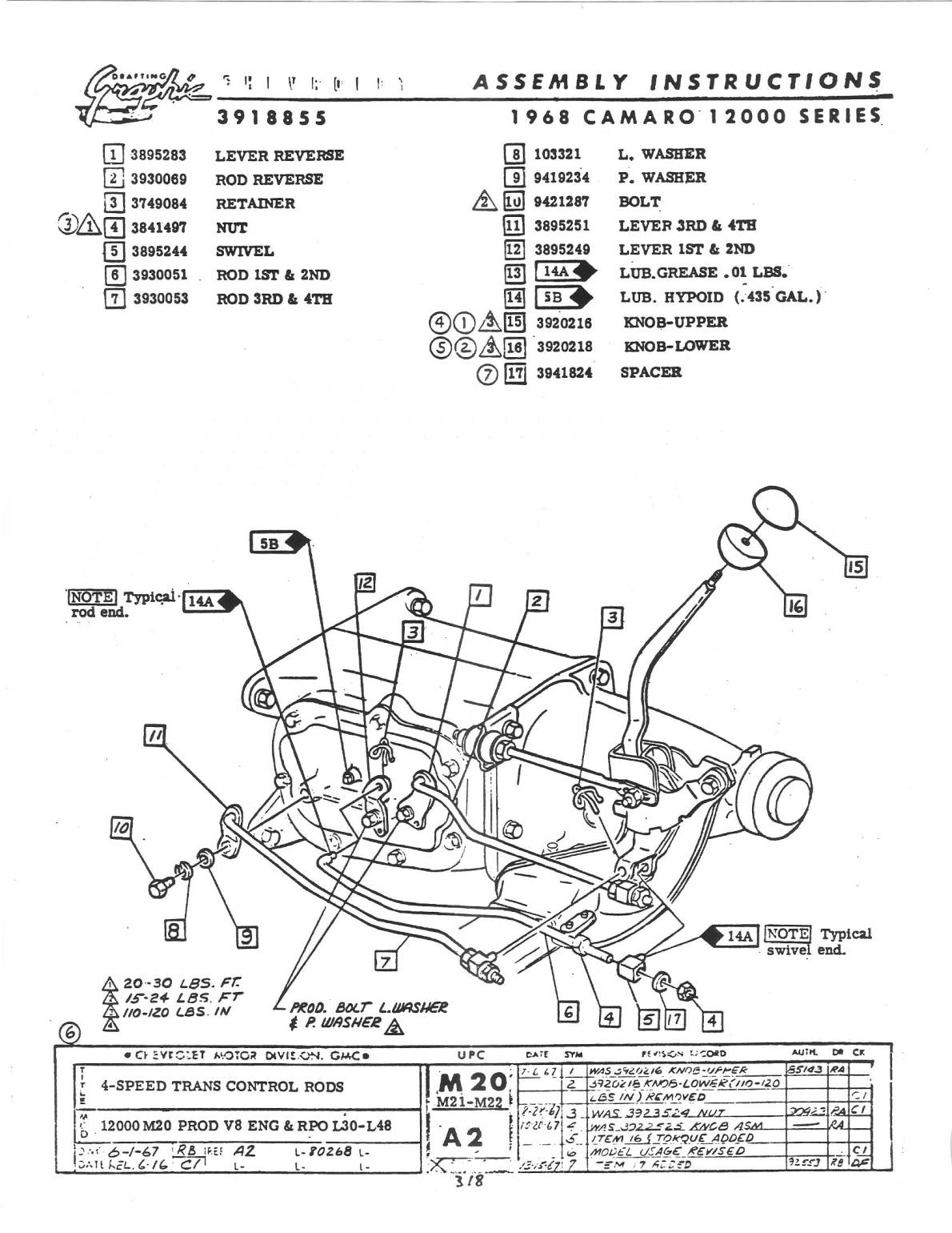 35 13 Speed Shifter Knob Diagram