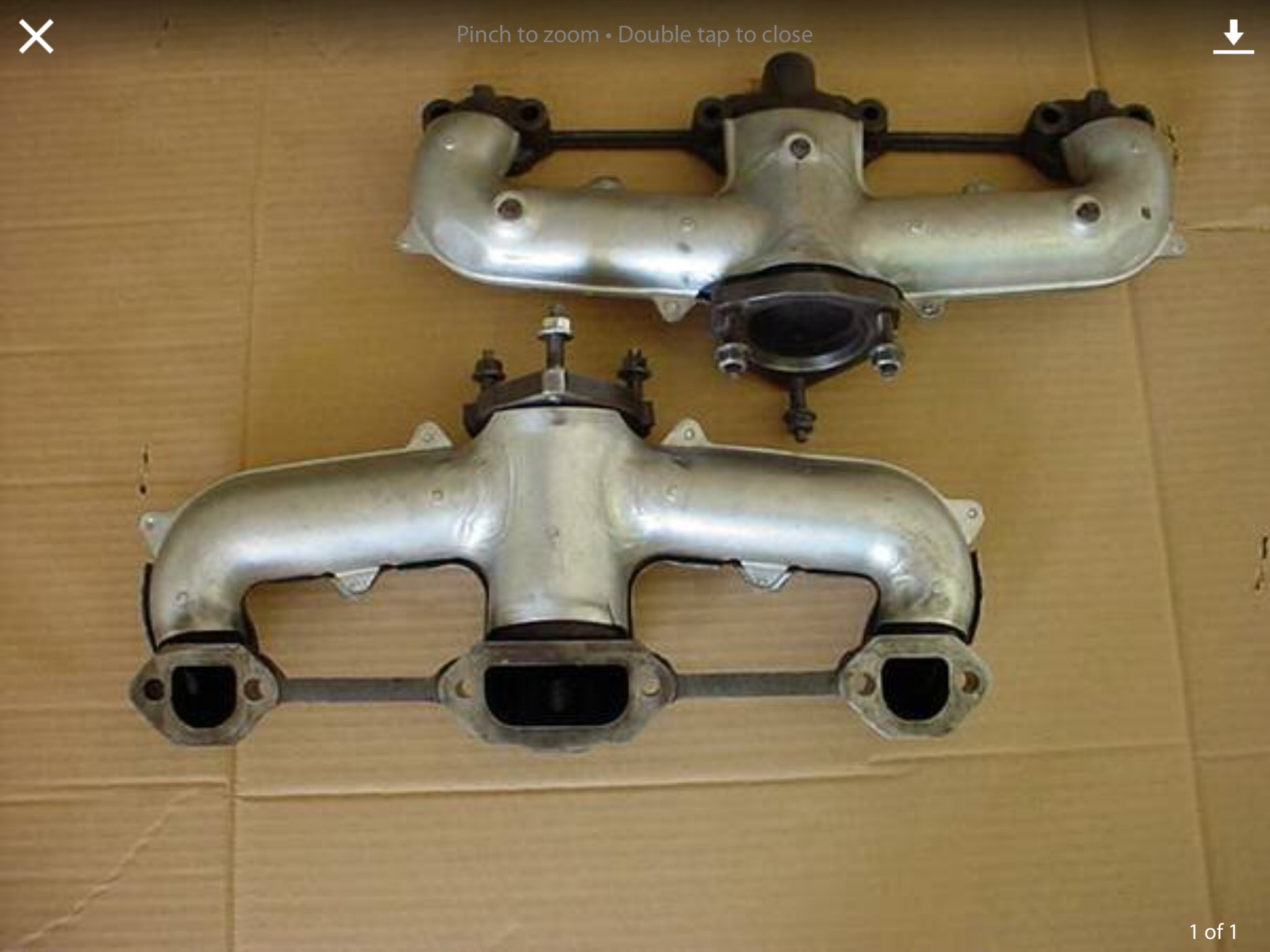 lt4 vette exhaust manifolds on lt1