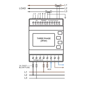 SMARTRAIL X835MID Multifunction Power Meter – Pulse