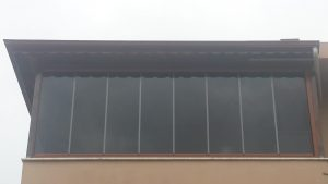Fume Siyah Renkli Cam Balkon Istanbul Cam Balkon Plise Perde