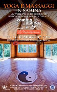 "Week-end olistico in Sabina @ Agriturismo ""Le streghe""   Montenero Sabino   Lazio   Italia"
