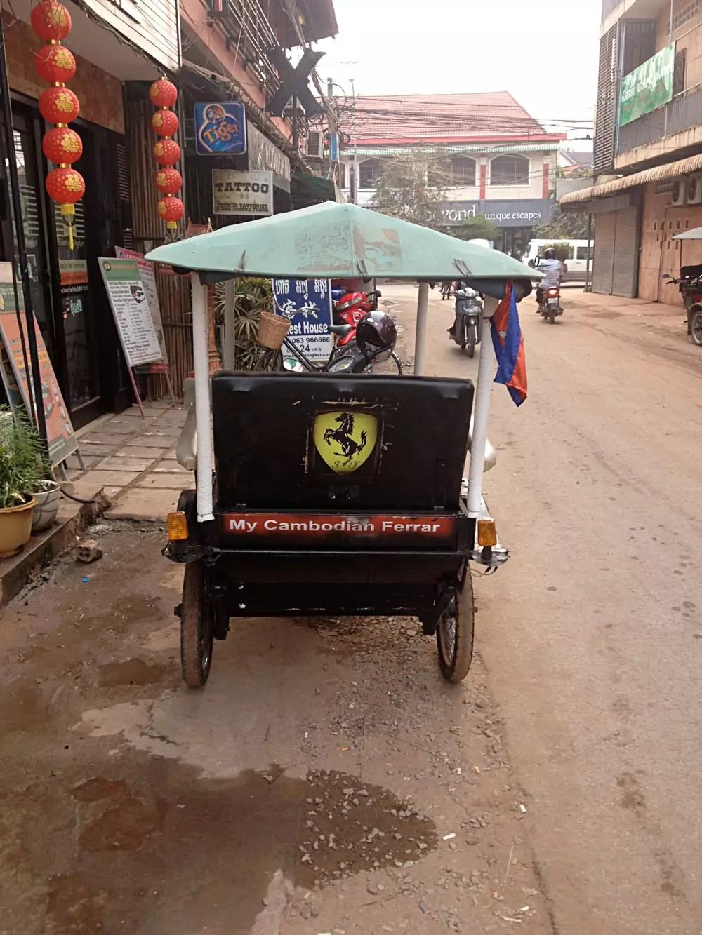 My Cambodian Ferrari