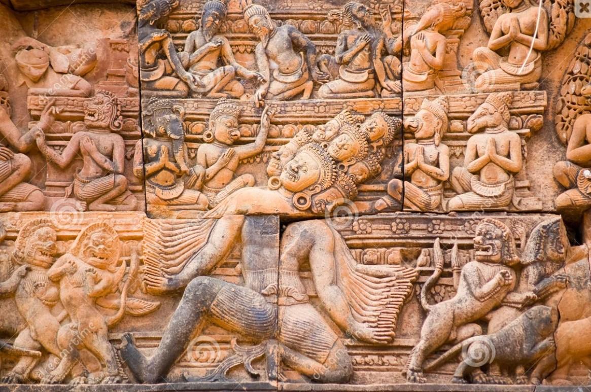 Cambodian Crime—Goddess Ravana