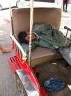 Another Sleeping Tuk Tuk Driver