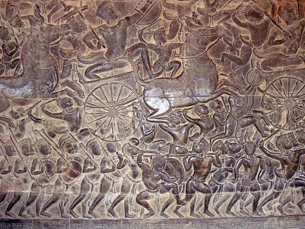Angkor Wat Horse Chariot