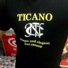 T-Shirt: Ticano — simpu and elegant but casuap