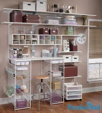 Shelving   Cambria Glass Schulte FreedomRail