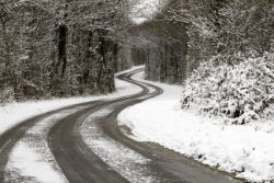 icy road, traffic, driving in icy conditions, safe driving, fuel cards, business fuel